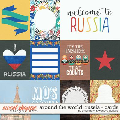 Around the world: Russia - Cards by Amanda Yi & WendyP Designs