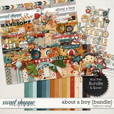 About A Boy {Bundle} by Digilicious Design