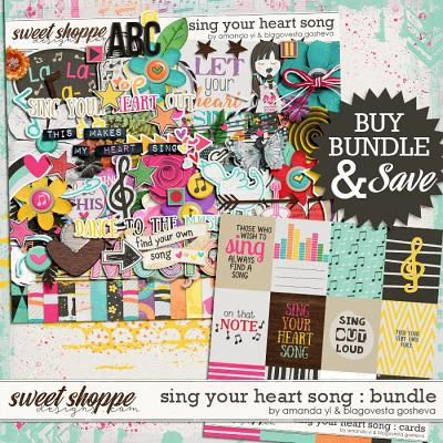 Sing your heart song {bundle} by Amanda Yi & Blagovesta Gosheva