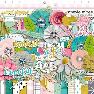 Simple Vibes Kit by Kelly Bangs Creative