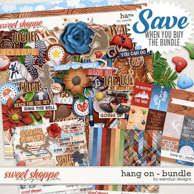 Hang on - Bundle & *FWP* by WendyP Designs