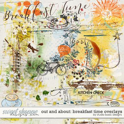 Out and About: Breakfast Time Overlays by Studio Basic Designs