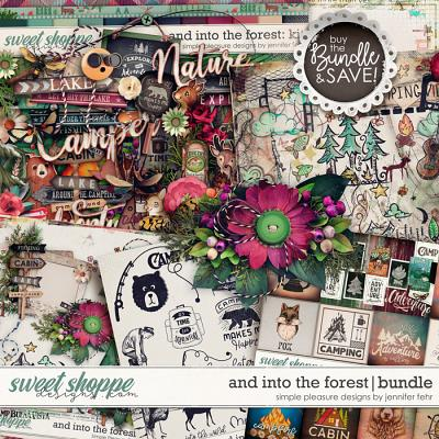 and into the forest bundle: simple pleasure designs by jennifer fehr