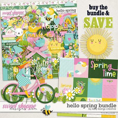 Hello Spring Bundle by Kelly Bangs Creative