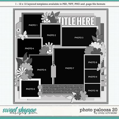 Cindy's Layered Templates - Photo Palooza 20 by Cindy Schneider