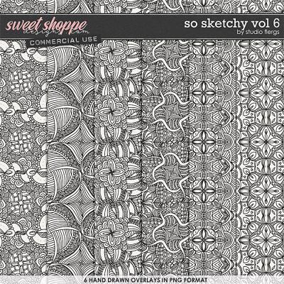 So Sketchy VOL 6 by Studio Flergs