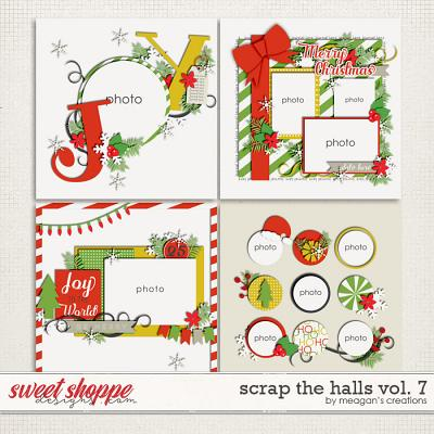 Scrap the Halls Vol. 7 by Meagan's Creations
