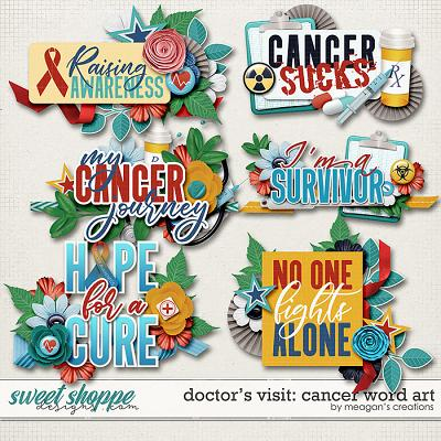 Doctor's Visit: Cancer Word Art by Meagan's Creations