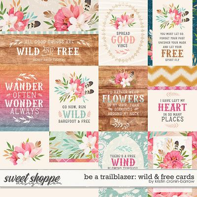Be a Trailblazer: Wild and Free Cards by Kristin Cronin-Barrow