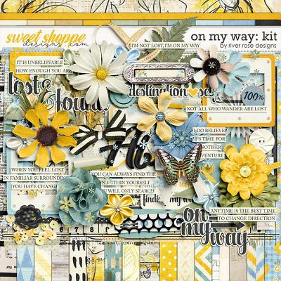 On My Way: Kit by River Rose Designs