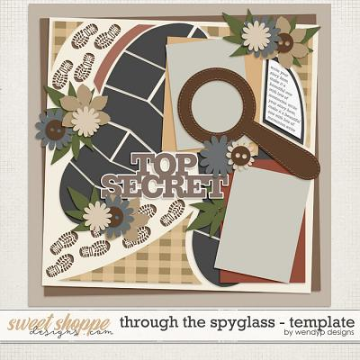 Through the spyglass - template by WendyP Designs