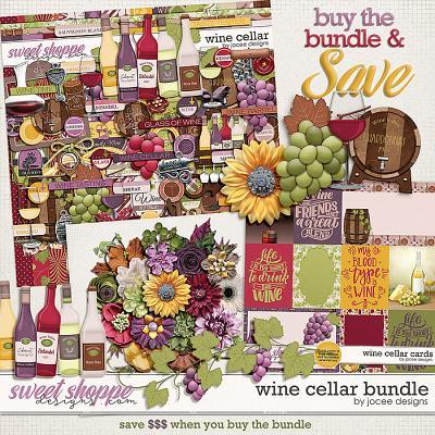 Wine Cellar Bundle by JoCee Designs