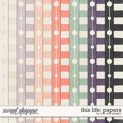 This Life: Papers by River Rose Designs