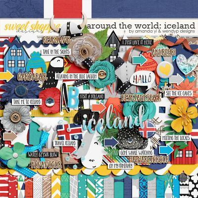 Around the world: Iceland - by Amanda Yi & WendyP Designs