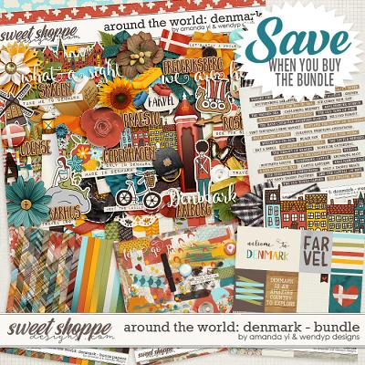 Around the world: Denmark bundle by Amanda Yi & WendyP Designs