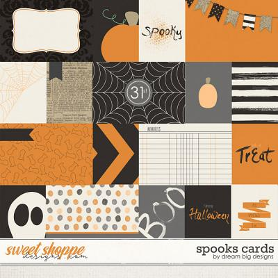 Spooks Cards by Dream Big Designs