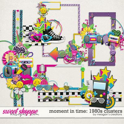 Moment in Time: 1980s Clusters by Meagan's Creations