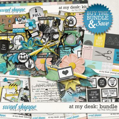 AT MY DESK BUNDLE | by The Nifty Pixel