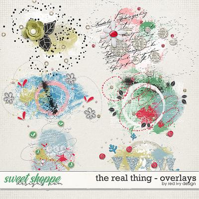 The Real Thing - Overlays by Red Ivy Design
