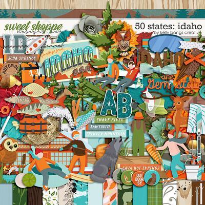 50 States: Idaho by Kelly Bangs Creative