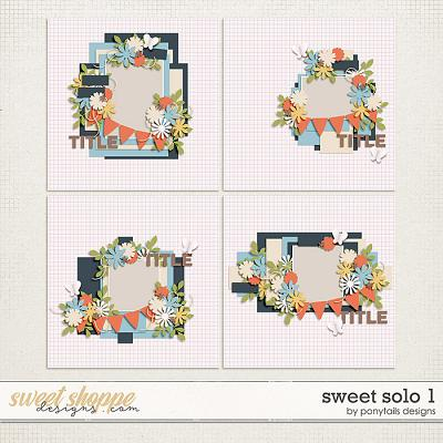 Sweet Solo 1 Templates by Ponytails