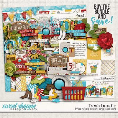 Fresh Bundle by Ponytails Designs and LJS Designs
