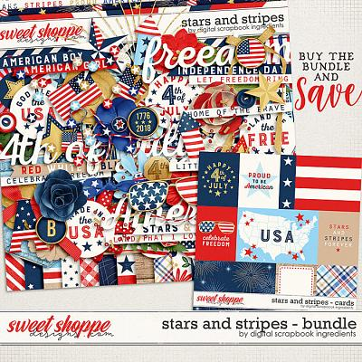 Stars And Stripes Bundle by Digital Scrapbook Ingredients