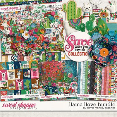 Llama Llove Bundle by Clever Monkey Graphics