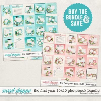 The First Year 10x10 Photobook Bundle by Melissa Bennett