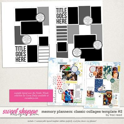 Memory Planners - Classic - Collages #2 by Traci Reed