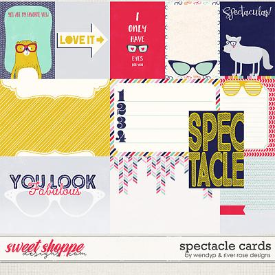 Spectacle - cards by River Rose and WendyP Designs