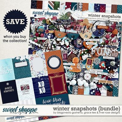 Winter Snapshots {bundle} by Blagovesta Gosheva, Grace Lee & River Rose Designs
