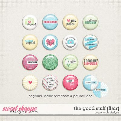 The Good Stuff Flair by Ponytails
