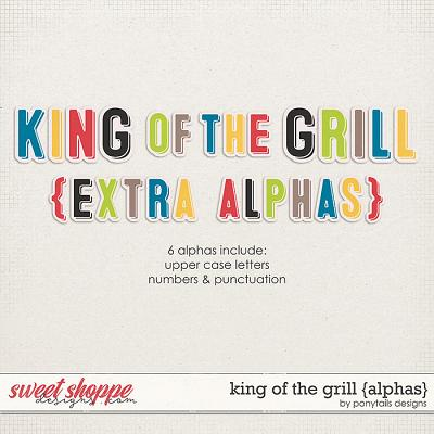 King of the Grill Alphas by Ponytails