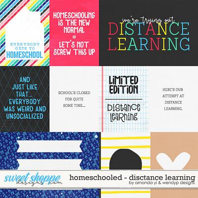 Homeschooled: Distance Learning Cards by Amanda Yi & WendyP Designs