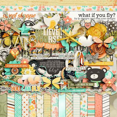 What If You Fly? by LJS Designs and River Rose Designs