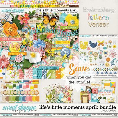 Life's Little Moments April: Bundle by Grace Lee