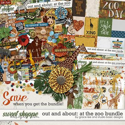 Out and About: At the Zoo Bundle by Grace Lee and Studio Basic