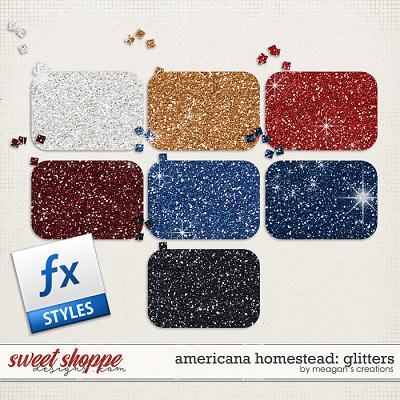 Americana Homestead: Glitters by Meagan's Creations
