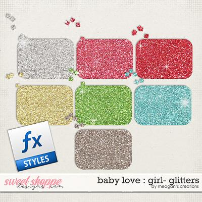 Baby Love {Girl} : Glitters by Meagan's Creations