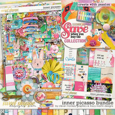 Inner Picasso Bundle by Clever Monkey Graphics & Tracy Martin Designs