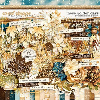 These Golden Days by Kristin Cronin-Barrow
