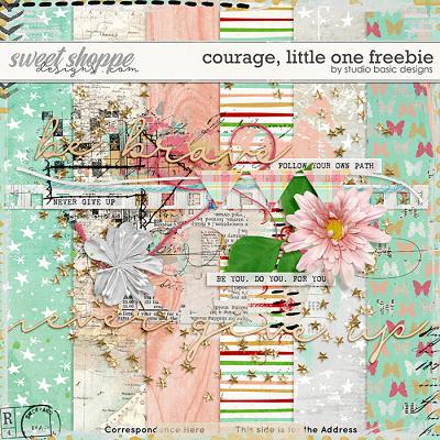 Courage, Little One FREEBIE by Studio Basic