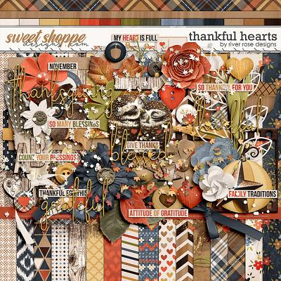 Thankful Hearts Kit by River Rose Designs