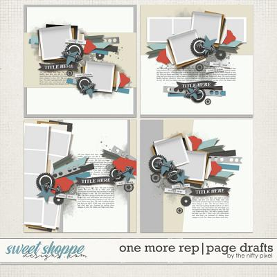 ONE MORE REP | PAGE DRAFTS by The Nifty Pixel