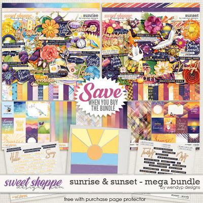 Sunrise & Sunset Mega Bundle & *FWP* by WendyP Designs