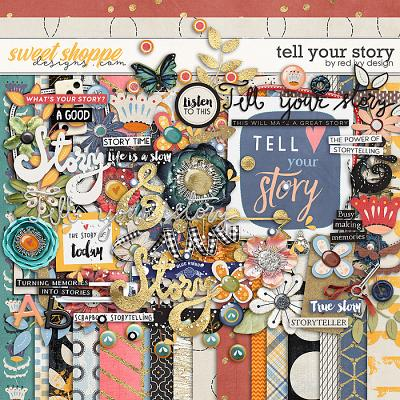 Tell Your Story by Red Ivy Design