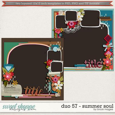 Brook's Templates - Duo 57 - Summer Soul by Brook Magee
