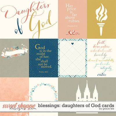 Blessings: Daughters of God Cards by Grace Lee