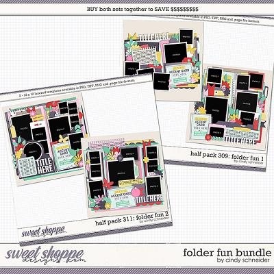 Cindy's Layered Templates - Folder Fun Bundle by Cindy Schneider